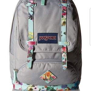 JANSPORT Cortlandt Spring Sky Backpack GREY
